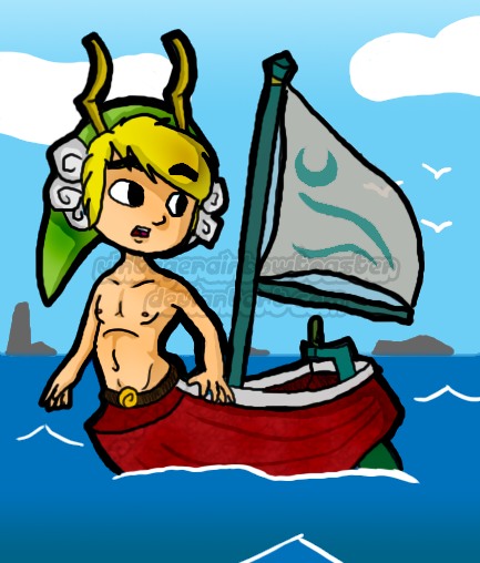 Remastered content for Wind Waker HD.
