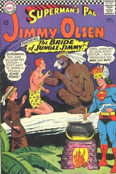 """""""The BRIDE of JUNGLE JIMMY!"""""""