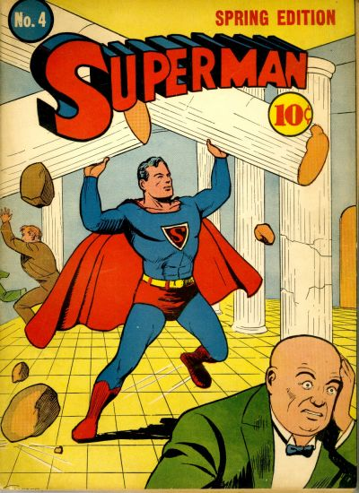 Superman Has an Irrational Hatred of Greek Architecture.