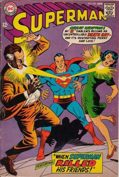 """""""When Superman Killed His Friends!"""""""