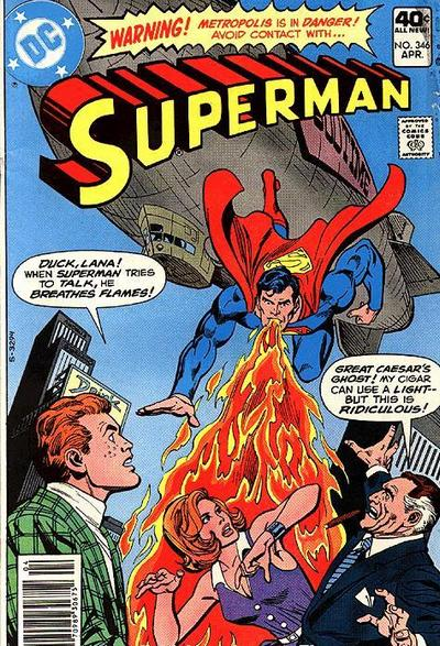 Superman Really Needs to Shut His Face Hole.