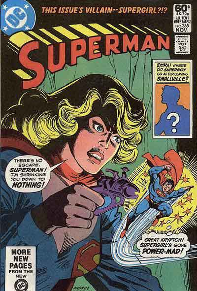 """""""This Issue's Villain--Supergirl?!?"""""""
