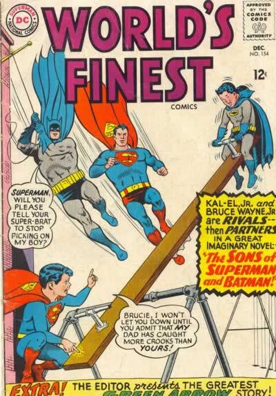 """""""The Sons of Superman and Batman!"""""""