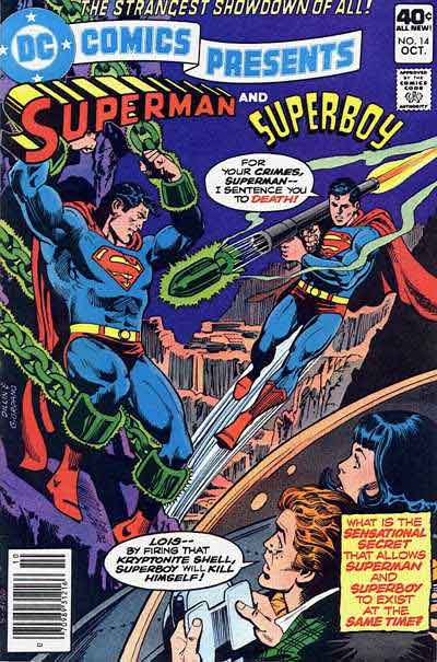 Superboy Creates a Time Paradox That Will Probably Destroy the Universe.