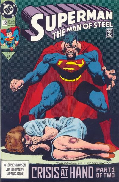 Superman:  Wife Beater.