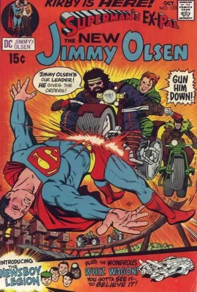 Jimmy Kills Superman for Four Consecutive Issues.