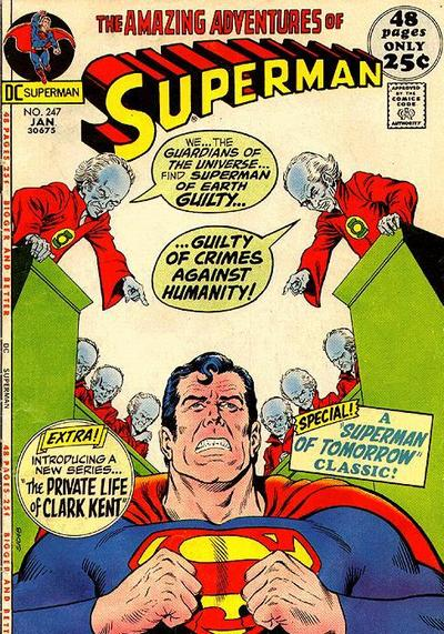 Superman is Found Guilty of Crimes Against Humanity.  About Time.