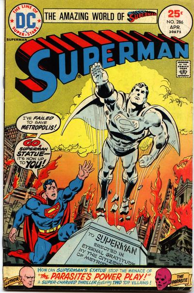 """""""Go, Superman Statue--It's Now Up to You!"""""""