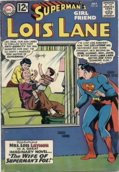 Superman Being a Peeping Tom at Lois and Lex's House.