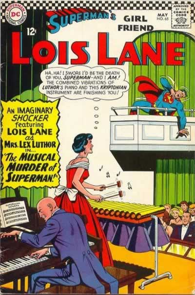 Lois and Luthor Off Superman
