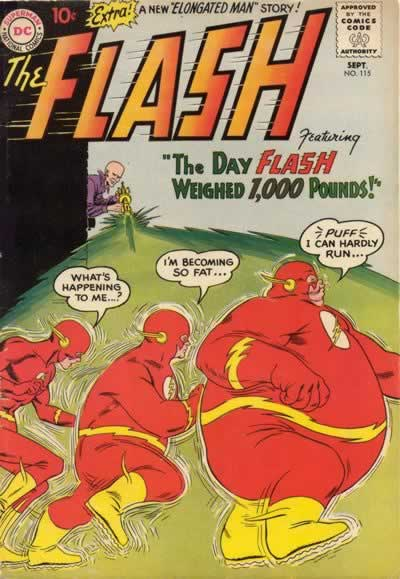 """""""The Day Flash Weighed 1,000 Pounds!"""""""