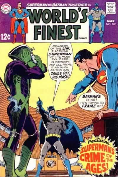 """""""Superman's Crime of the Ages!"""""""