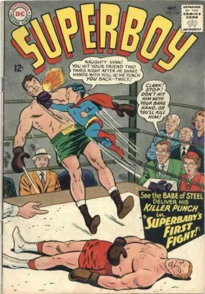 Superbaby in the Boxing Ring.