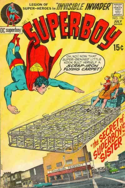 When'd Superboy Have a Sister, Anyway?