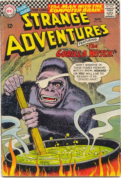"""""""The Gorilla Witch!"""""""