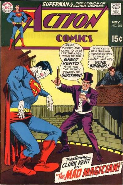 """""""Clark Kent as The Mad Magician!"""""""