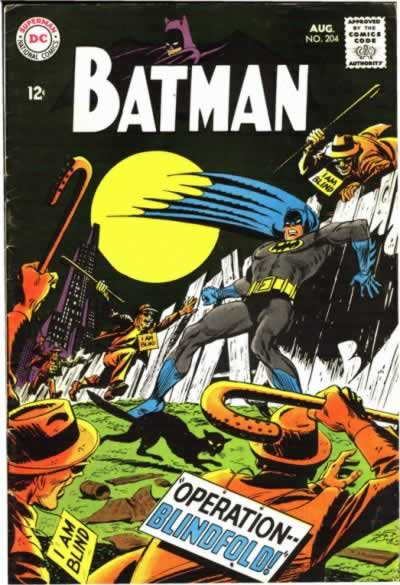 Batman Gets Beat Up by Blind Guys.