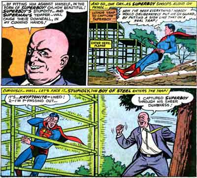 Superboy is a Colossal Dumbass.