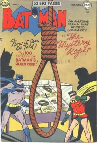 Apparently the Most Terrifying Noose Ever.