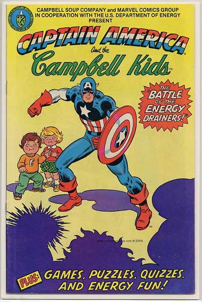 """""""Captain America and the Campbell Kids!"""""""
