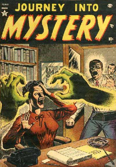 The Mystery of the Mysteriously Mysterious Green Hands.