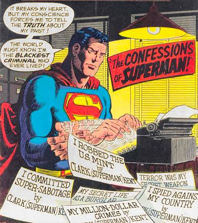 """""""The Confessions of Superman!"""""""
