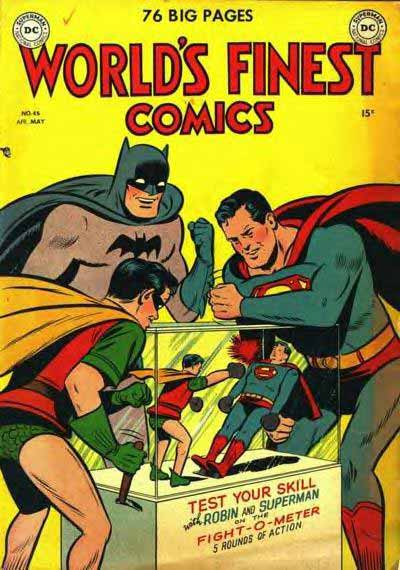 World's Finest Waste of Time.