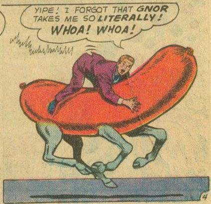 Jimmy Rides a Giant Hot-Dog.  I Don't Get it Either.