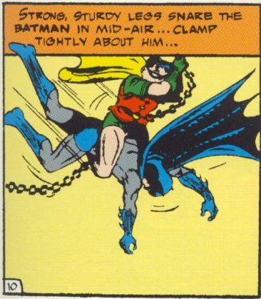 """""""Strong, Sturdy Legs Snare The Batman in Mid-Air..."""""""