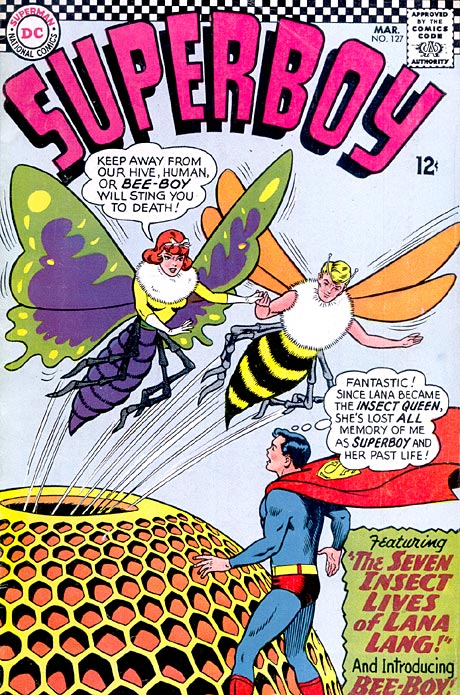 """""""The Seven Insect Lives of Lana Lang!"""""""