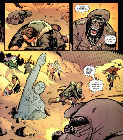 Monsieur Mallah is a Little Behind the Times.