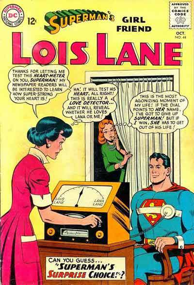 """Lois and her """"Love Detector."""""""