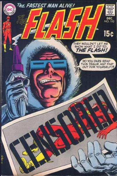 Captain Cold and Flash.