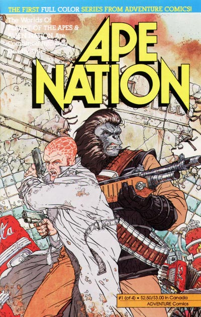 Ape Nation:  The Strangest Combination of Franchises You Ever Saw.