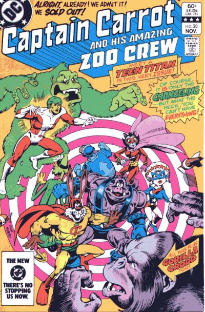 Captain Carrot: In No Position to be Dissing Beast Boy.