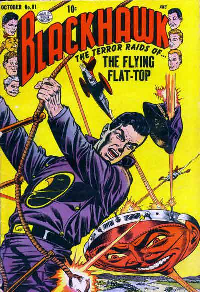"""""""The Terror Raids of... The Flying Flat-Top!"""""""
