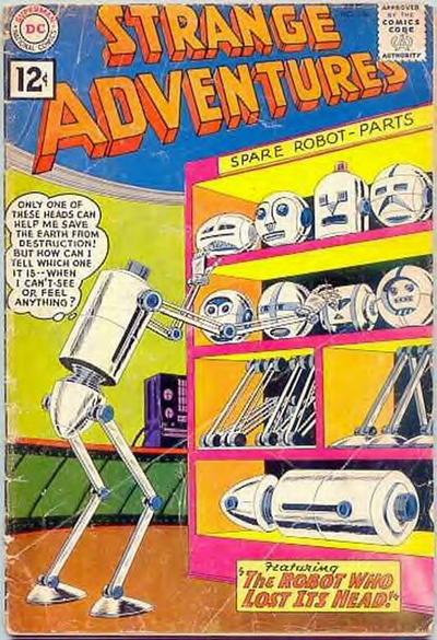 """""""The Robot Who Lost Its Head!"""""""