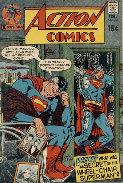"""""""The Secret of the Wheelchair Superman!"""""""