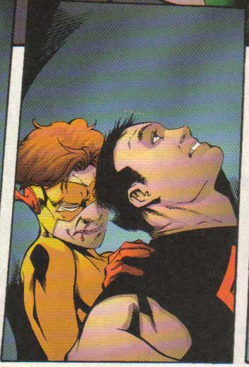 Kid Flash and Superboy Get it On.