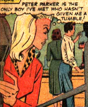 Gwen Stacy is Like the Village Bicycle.