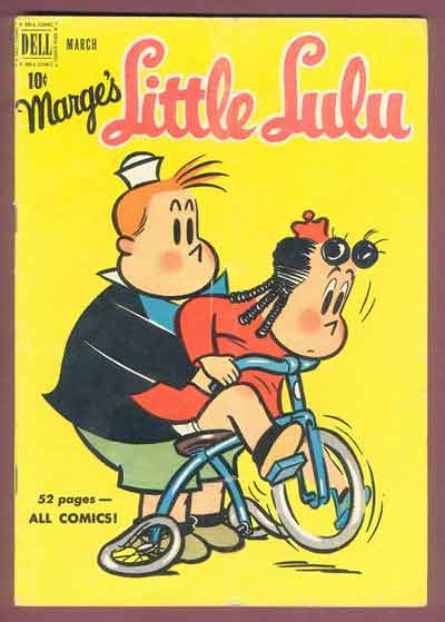 This Issue:  Little Lulu Scars You For Life.