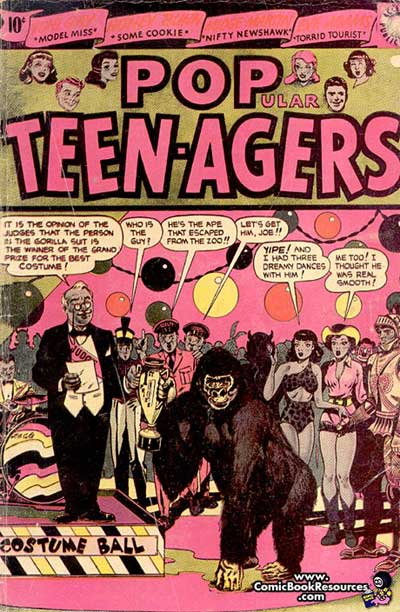 """""""Popular Teen-Agers."""""""