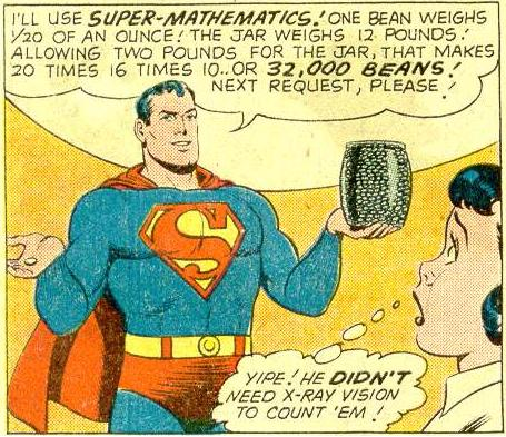 Middle School Math is a Super Power, Apparently.