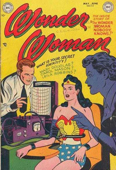 """""""The Wonder Woman Nobody Knows!"""""""