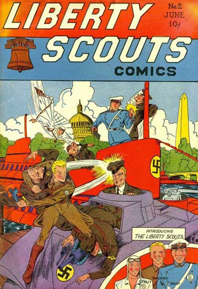 Liberty Scout Comics Introduces:  The Liberty Scouts!