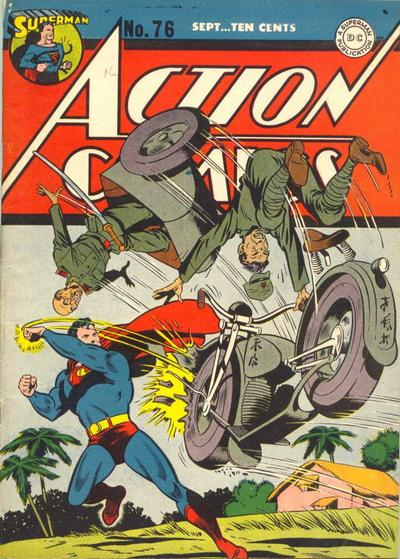 More Superman Picking on Axis Troops.
