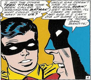 """""""Uncle Sam Doesn't Have to Give Reasons, Robin!"""""""