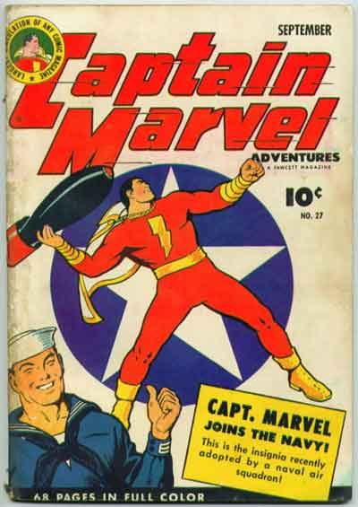 """""""Captain marvel Joins the Navy!"""""""