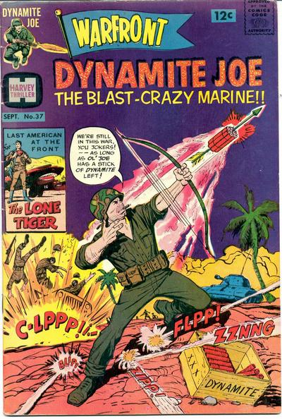 Dynamite Joe:  The US Pulls Out, Joe Remains With His Bow and Arrow.