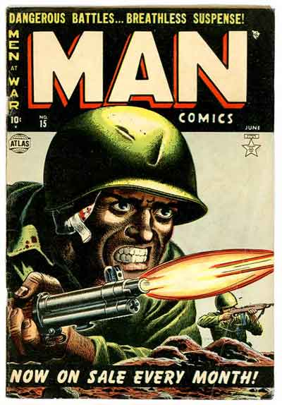 What's More Manly Than Man Comics?